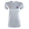 Womens VictoryLayer Tee Front – White